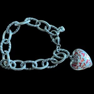 Beautiful Brighton Charm bracelet. Opens